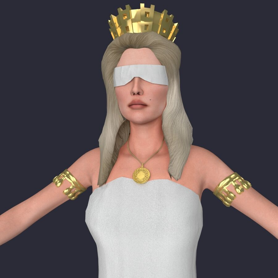 Fortune royalty-free 3d model - Preview no. 12