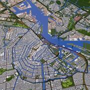 Amsterdam City 3d model