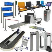 Коллекция аэропорта 1 3d model