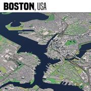 Boston Massachusetts Estados Unidos modelo 3d