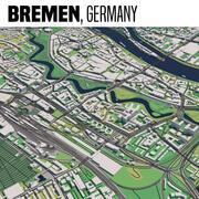 Brema Germania 3d model