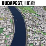 Budapest, Ungern 3d model