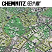 Chemnitz Germania 3d model