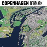 丹麦哥本哈根 3d model