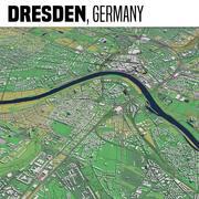Dresda Germania 3d model