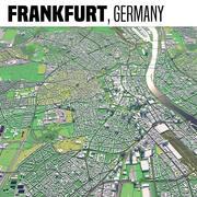 Francoforte Germania 3d model