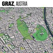 Graz Austria 3d model
