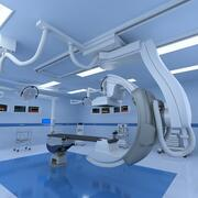 Medical Hybrid Operating Room 3d model