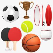 Kolekcja Sport 3d model