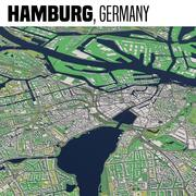 Hamburg, Deutschland 3d model