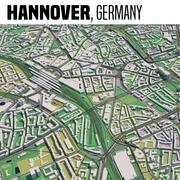 Hannover Germania 3d model