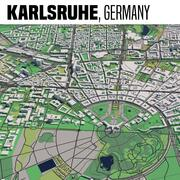 Karlsruhe in Germania 3d model