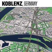 Coblenza in Germania 3d model