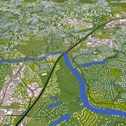 Roswell City 3d model