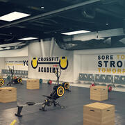 Crossfit-Fitnessstudio (1) 3d model