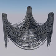 Wire Cable 3d model