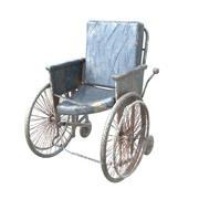 Altes gebrochenes Modell des Rollstuhls 3d 3d model