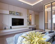 현대 침실 인테리어 디자인 3d model
