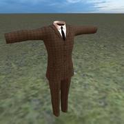edwardian era suit 3d model