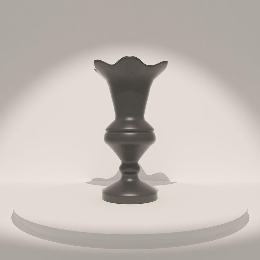 アンティーク花瓶003 royalty-free 3d model - Preview no. 2