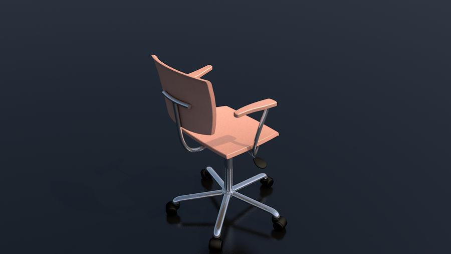 Büroarbeitsstuhl Möbel royalty-free 3d model - Preview no. 6