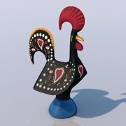 バルセロスの雄鶏 3d model