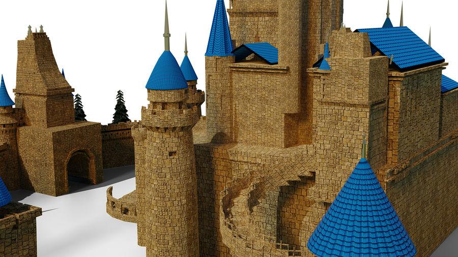 Slott royalty-free 3d model - Preview no. 6