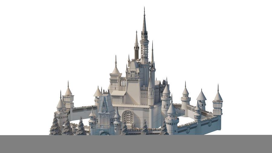 Slott royalty-free 3d model - Preview no. 8