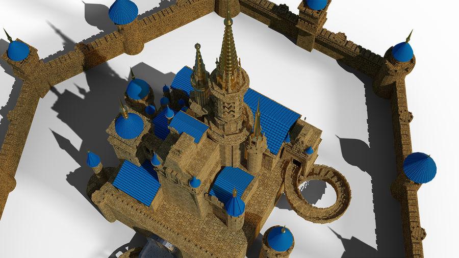 Slott royalty-free 3d model - Preview no. 7