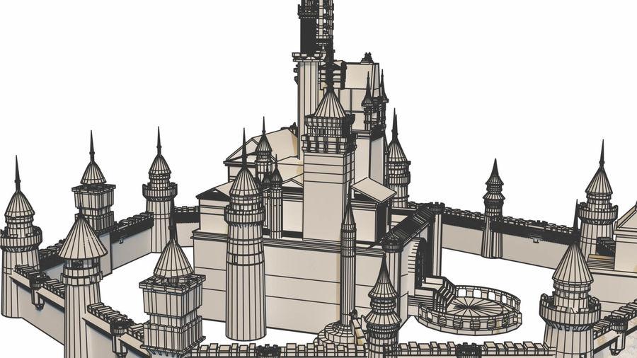 Castle royalty-free 3d model - Preview no. 10