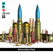 Pack de munitions 3d model