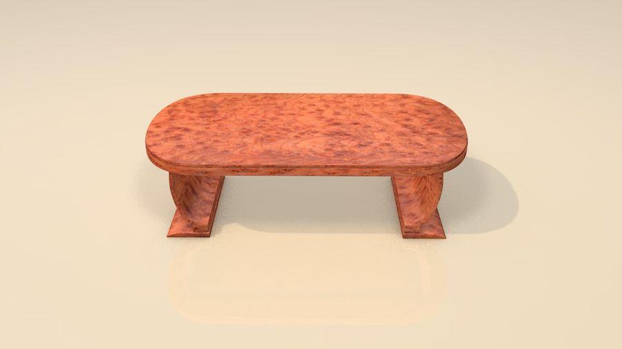 Деревянная мебель для гостиной royalty-free 3d model - Preview no. 4