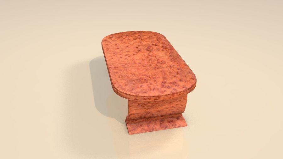 Drewniane meble do salonu royalty-free 3d model - Preview no. 6