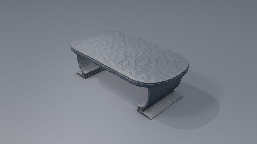 Drewniane meble do salonu royalty-free 3d model - Preview no. 7