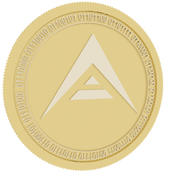 ark gold coin 3d model