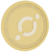 icon gold coin 3d model