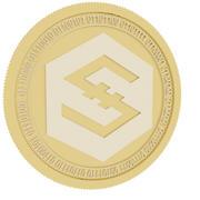 золотая монета 3d model