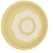 科莫多金币 3d model