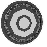 科莫多黑硬币 3d model