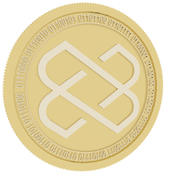 loom network gold coin 3d model