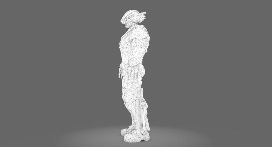 科幻士兵A型 royalty-free 3d model - Preview no. 11