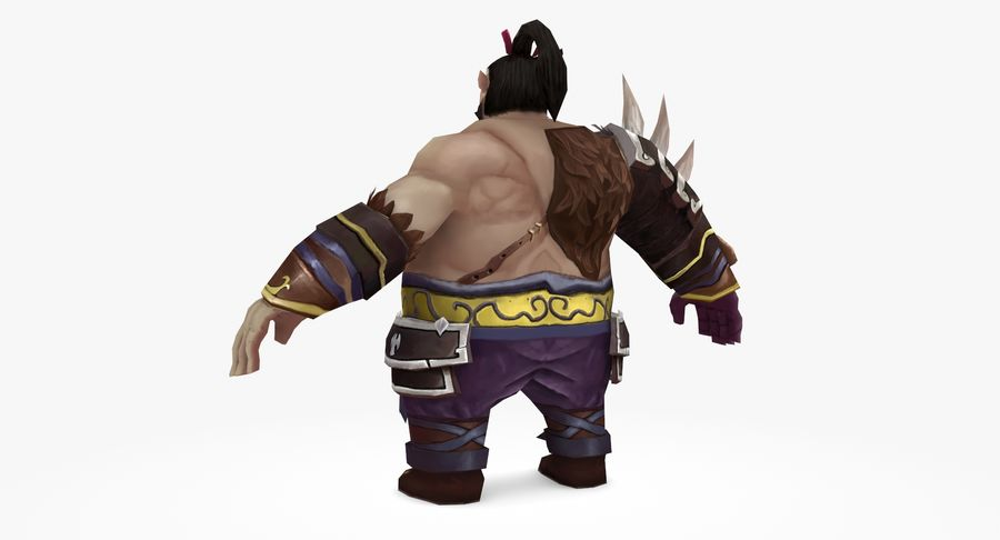 Warrior Fat royalty-free 3d model - Preview no. 5