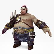 Warrior Fat 3d model