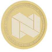nexo gold coin 3d model