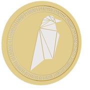 ravencoin cold coin 3d model