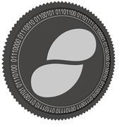 黑色状态硬币 3d model