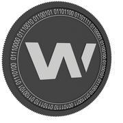 wax black coin 3d model