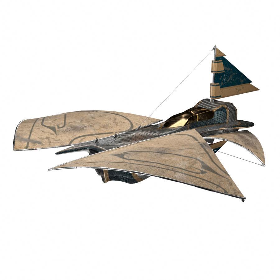 nave espacial de ciencia ficción royalty-free modelo 3d - Preview no. 2