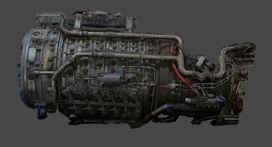 航空機エンジン部品 royalty-free 3d model - Preview no. 1