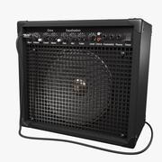 Guitar AMP amplifier 3d model